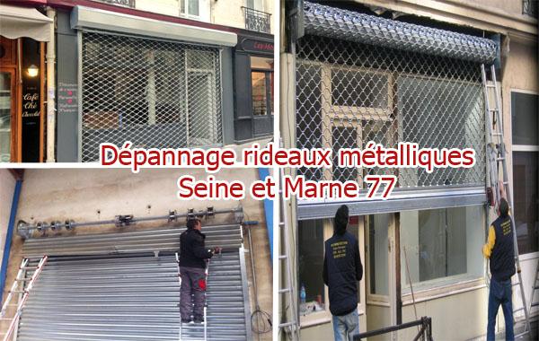 Dépannage-rideaux-métalliques-77-Seine-et-Marne