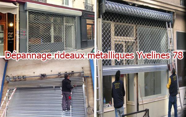 Dépannage-rideaux-métalliques-Yvelines-78