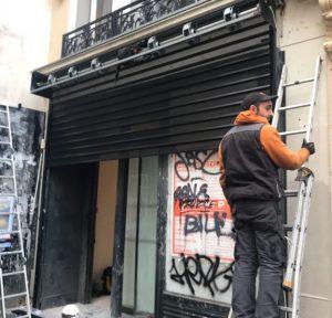 depannage rideau métallique Yvelines 78