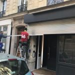 réparation rideau métallique à Paris