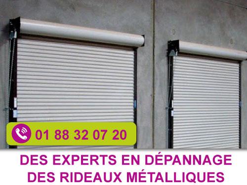 entreprise de dépannage rideau métallique Paris