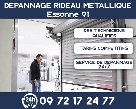 Dépannage rideau métallique Essonne 91