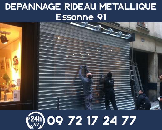 dépannage rideau metallique Essone 91